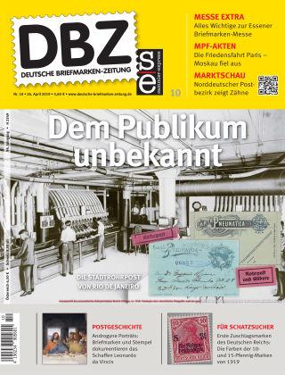Deutsche Briefmarken-Zeitung 10/2019