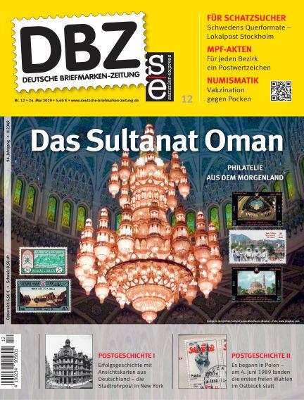 Deutsche Briefmarken-Zeitung May 24, 2019 00:00