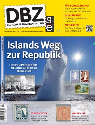 Deutsche Briefmarken-Zeitung 13/2019