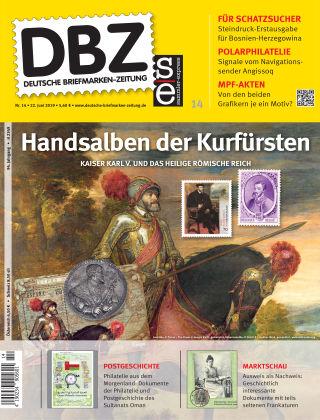 Deutsche Briefmarken-Zeitung 14/2019