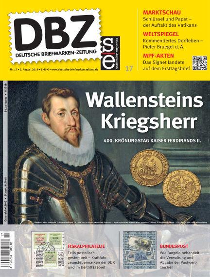 Deutsche Briefmarken-Zeitung August 02, 2019 00:00