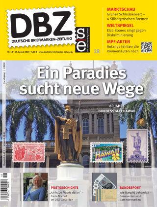 Deutsche Briefmarken-Zeitung 18/2019