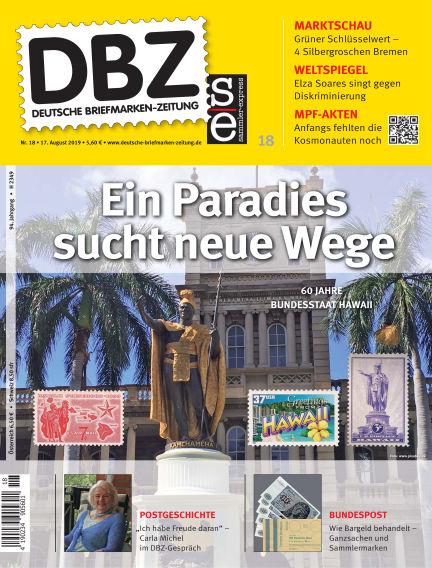 Deutsche Briefmarken-Zeitung August 17, 2019 00:00