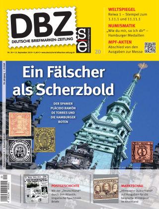 Deutsche Briefmarken-Zeitung 20/2019