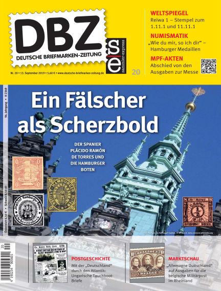 Deutsche Briefmarken-Zeitung September 13, 2019 00:00