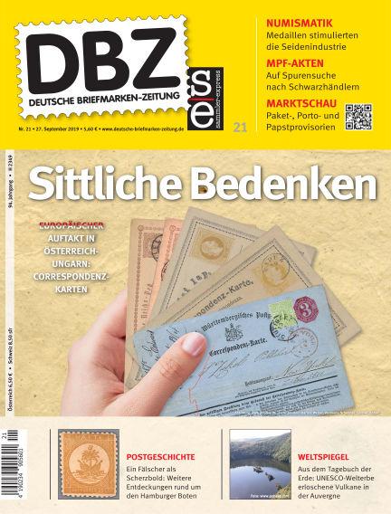 Deutsche Briefmarken-Zeitung September 27, 2019 00:00