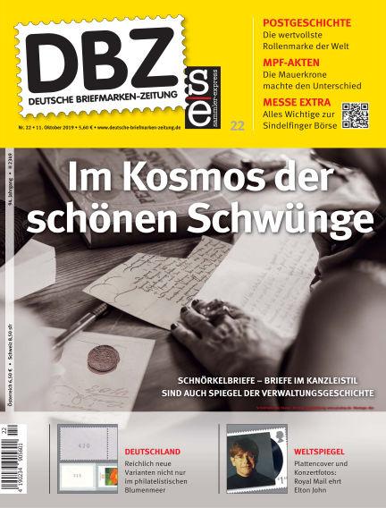 Deutsche Briefmarken-Zeitung October 11, 2019 00:00