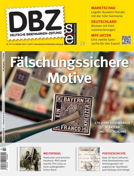 Deutsche Briefmarken-Zeitung October 25, 2019 00:00