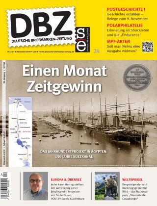 Deutsche Briefmarken-Zeitung 24/2019