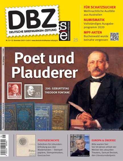 Deutsche Briefmarken-Zeitung November 22, 2019 00:00