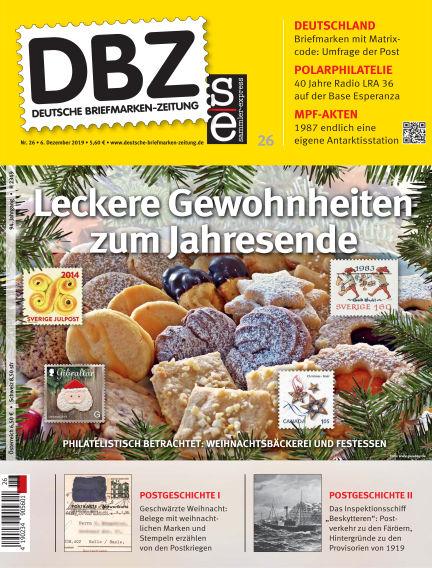 Deutsche Briefmarken-Zeitung December 06, 2019 00:00