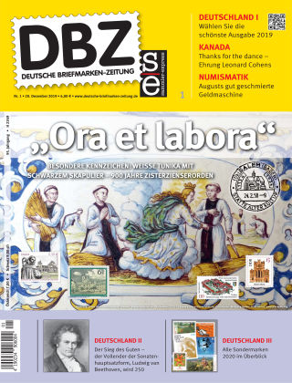 Deutsche Briefmarken-Zeitung 01/2020