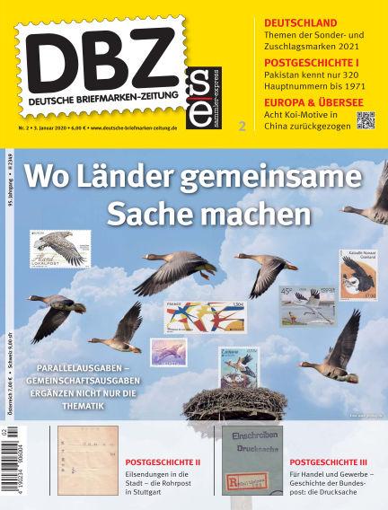 Deutsche Briefmarken-Zeitung January 03, 2020 00:00