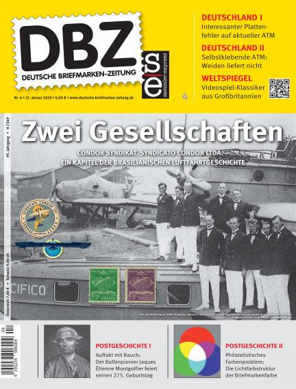 Deutsche Briefmarken-Zeitung January 31, 2020 00:00