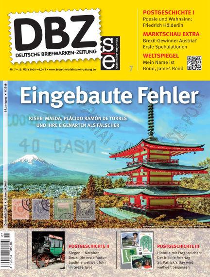Deutsche Briefmarken-Zeitung March 13, 2020 00:00