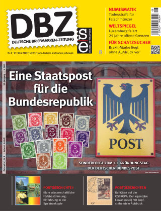 Deutsche Briefmarken-Zeitung 08/2020