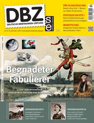 Deutsche Briefmarken-Zeitung 10/2020