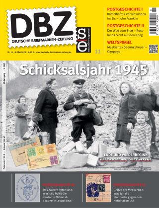 Deutsche Briefmarken-Zeitung 11/2020