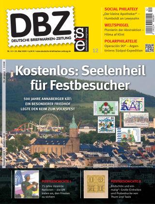 Deutsche Briefmarken-Zeitung 12/2020
