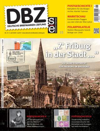 Deutsche Briefmarken-Zeitung 15/2020