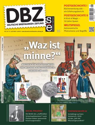 Deutsche Briefmarken-Zeitung 16/2020