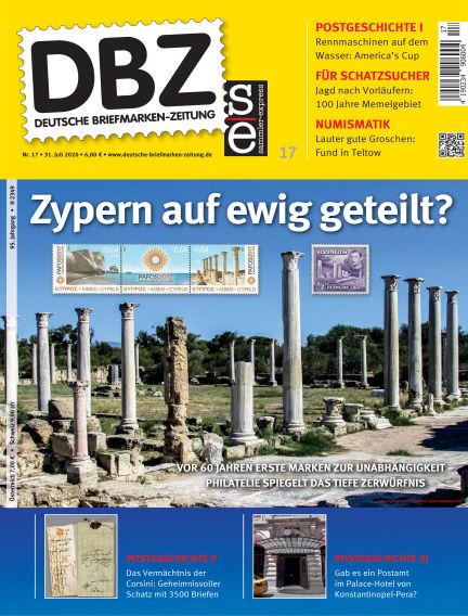 Deutsche Briefmarken-Zeitung July 31, 2020 00:00
