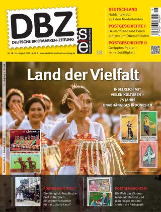 Deutsche Briefmarken-Zeitung 18/2020