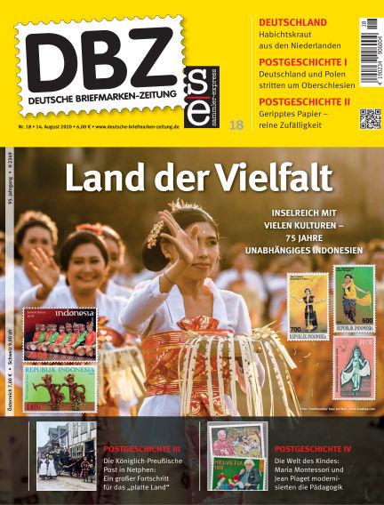 Deutsche Briefmarken-Zeitung August 14, 2020 00:00