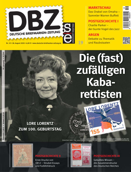 Deutsche Briefmarken-Zeitung August 28, 2020 00:00