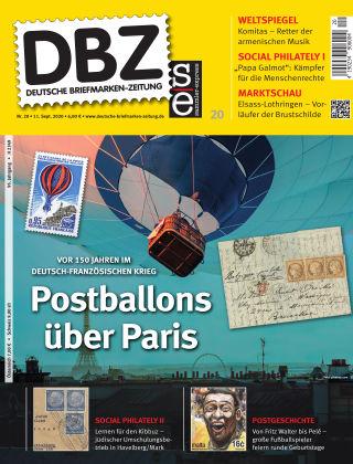 Deutsche Briefmarken-Zeitung 20/2020