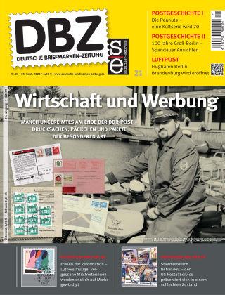 Deutsche Briefmarken-Zeitung 21/2020