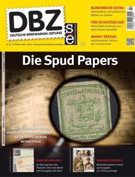 Deutsche Briefmarken-Zeitung October 09, 2020 00:00