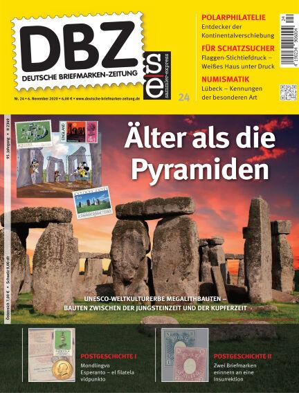 Deutsche Briefmarken-Zeitung November 06, 2020 00:00