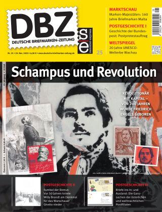 Deutsche Briefmarken-Zeitung 25/2020
