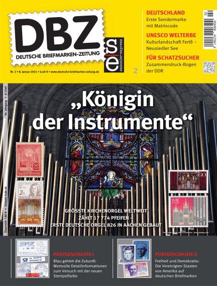 Deutsche Briefmarken-Zeitung January 08, 2021 00:00