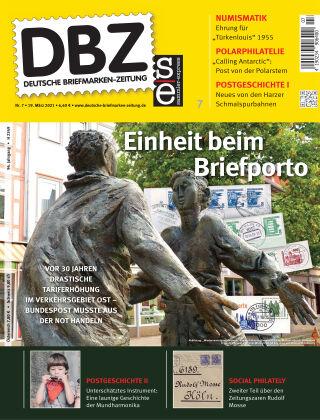 Deutsche Briefmarken-Zeitung 07/2021