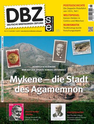 Deutsche Briefmarken-Zeitung 15/2021