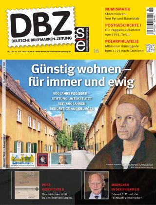 Deutsche Briefmarken-Zeitung 16/2021