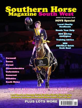 Southern Horse Magazine November 2018