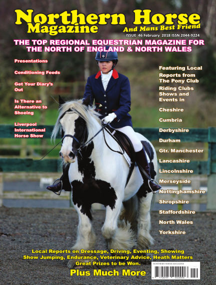 Northern Horse Magazine February 01, 2018 00:00