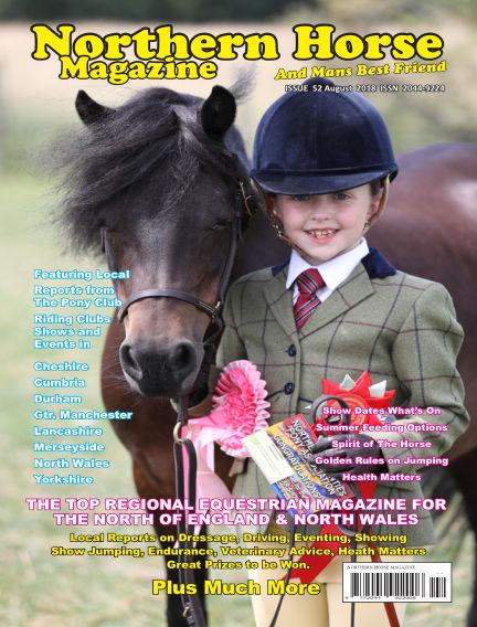 Northern Horse Magazine August 01, 2018 00:00