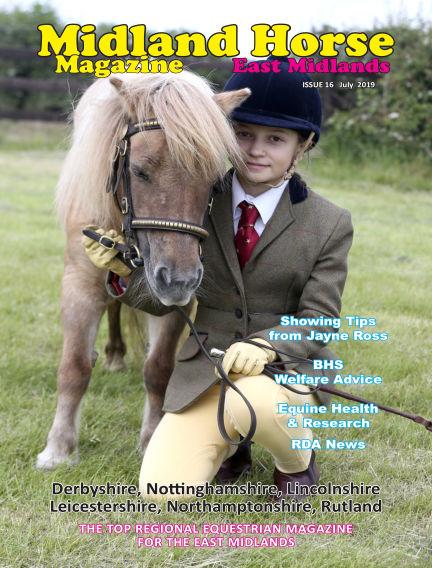 Midland Horse: East Midlands July 01, 2019 00:00