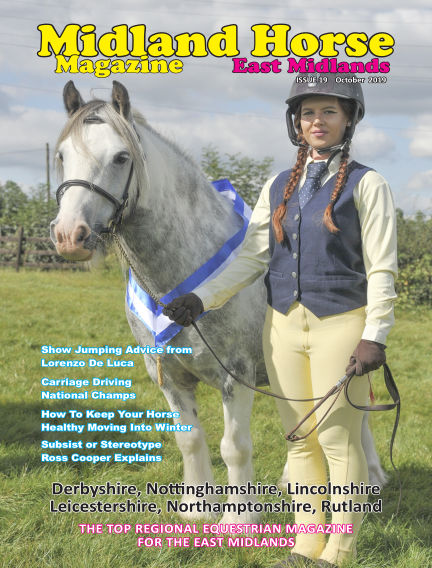 Midland Horse: East Midlands October 01, 2019 00:00