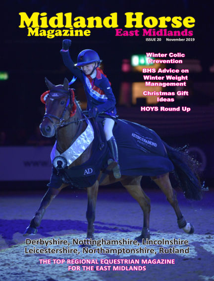 Midland Horse: East Midlands November 01, 2019 00:00