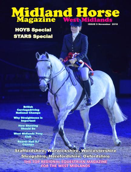 Midland Horse: West Midlands November 01, 2018 00:00