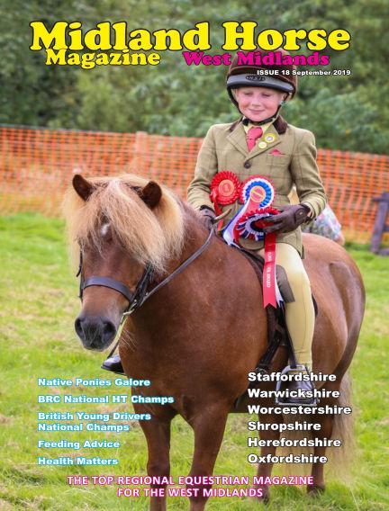 Midland Horse: West Midlands September 01, 2019 00:00