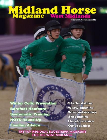 Midland Horse: West Midlands November 01, 2019 00:00