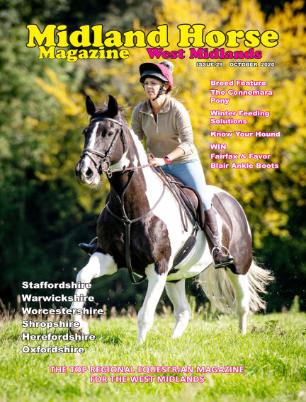 Midland Horse: West Midlands October 01, 2020 00:00