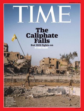 Time Magazine Europe November 6, 2017