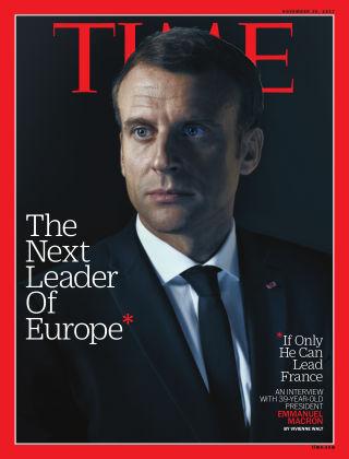 Time Magazine Europe November 20, 2017